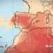 Entrada de polvo sahariano enturbiará los cielos a partir del miércoles
